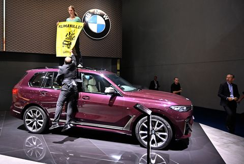 Anti-Car German Protest Groups Call for a Ban on SUVs at the Frankfurt Auto Show