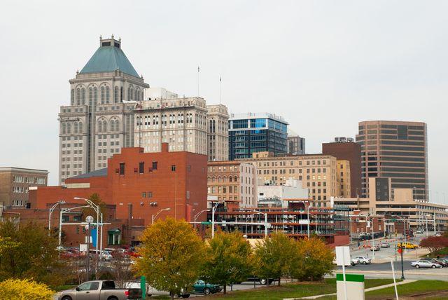 greensboro, nc skyline