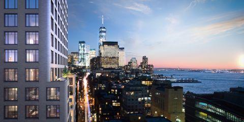 Metropolitan area, City, Urban area, Cityscape, Metropolis, Sky, Skyline, Skyscraper, Human settlement, Tower block,
