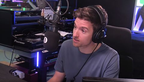 BBC Radio 1 suffers a heavy ratings fall as Chris Evans leaves Radio 2 on a high