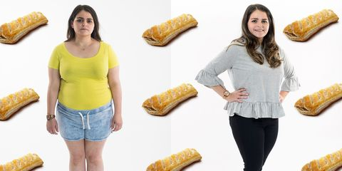 This woman lost a stone after eating nothing but Greggs for a month