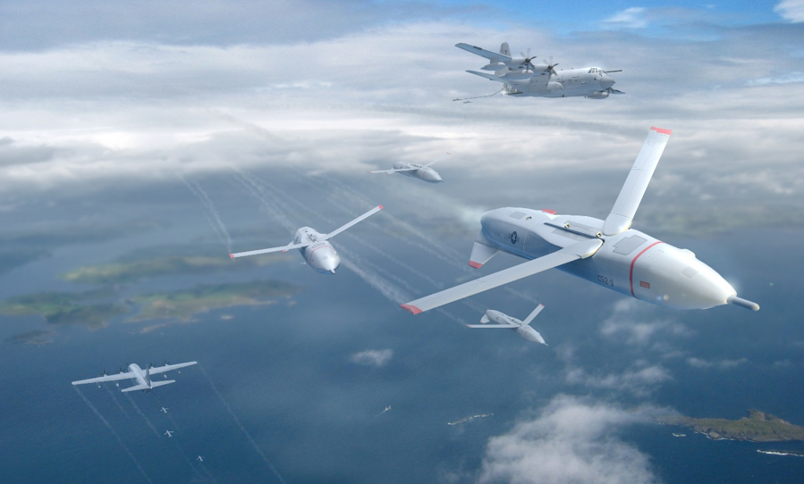 Gremlin Drone's First Flight Turns C-130 Into a Flying Aircraft Carrier