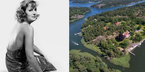 greta garbo swedish home