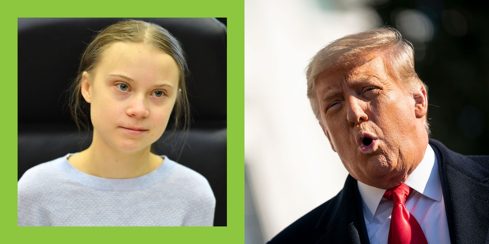 Greta Thunberg just burned Donald Trump in one final, epic way