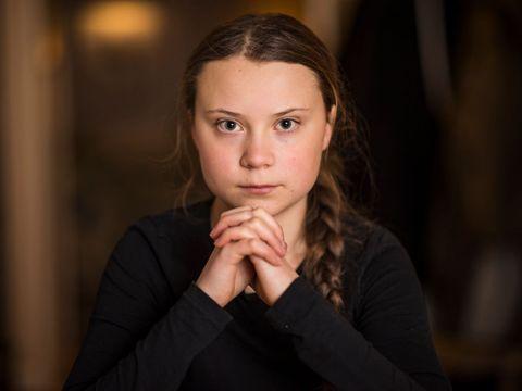 Greta Thunberg Portrait Session