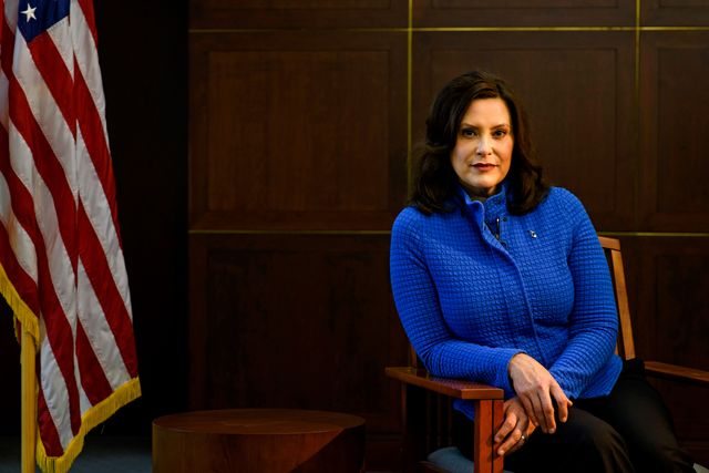 governor gretchen whitmer will not be intimidated