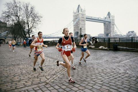 London Marathon history