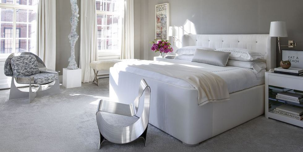 25 Chic And Serene Green Bedroom Ideas: 20+ Stylish Gray Bedrooms