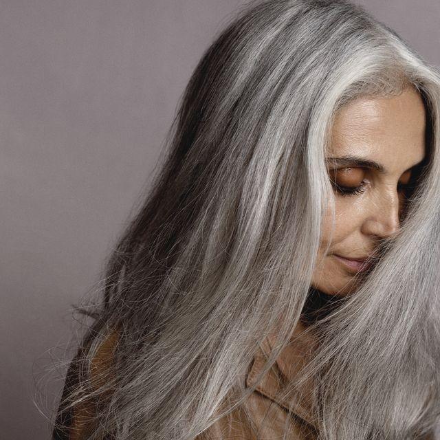 grey hair