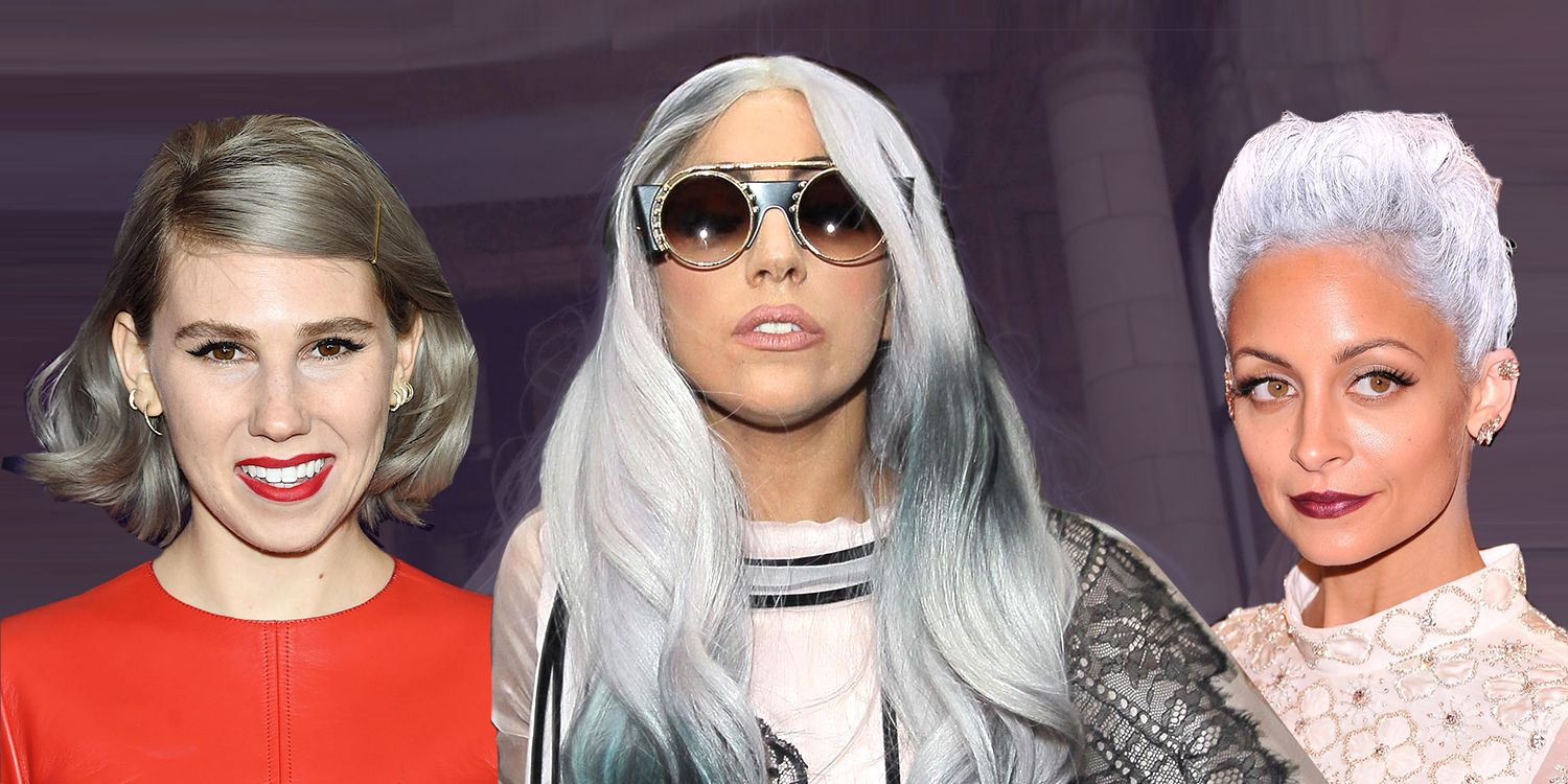 10 Best Grey Silver Hair Dyes Of 2018 Pretty Grey Hair Color To