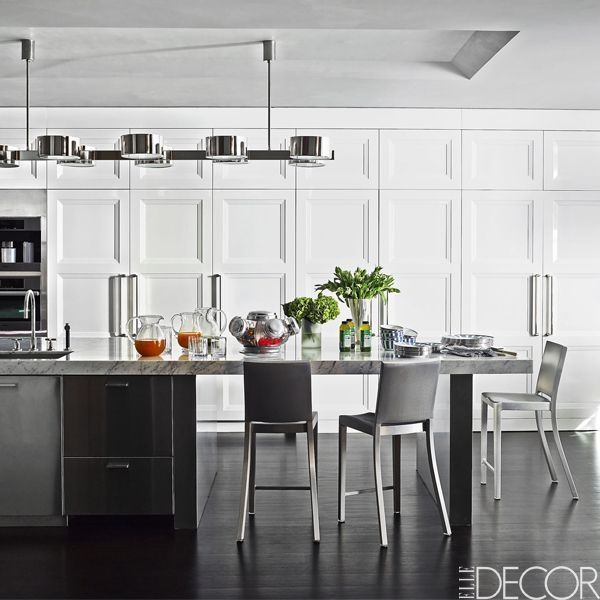 25 best gray kitchen ideas - photos of modern gray kitchen cabinets