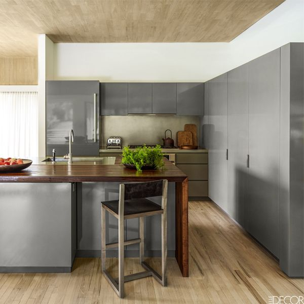 32 Best Gray Kitchen Ideas Photos Of Modern Gray Kitchen Cabinets Walls