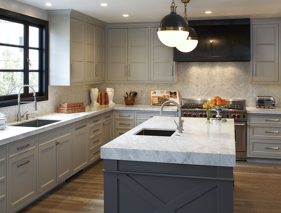 14 Best Grey Kitchen Cabinets Design Ideas With