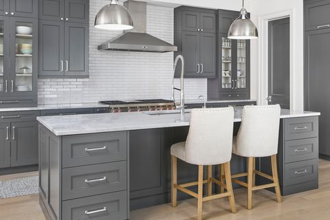 33 Sophisticated Gray Kitchen Ideas Chic Gray Kitchens