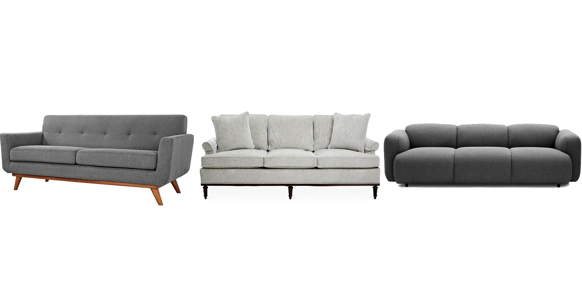 25 Grey Sofa Ideas for Living Room Grey Couches For Sale