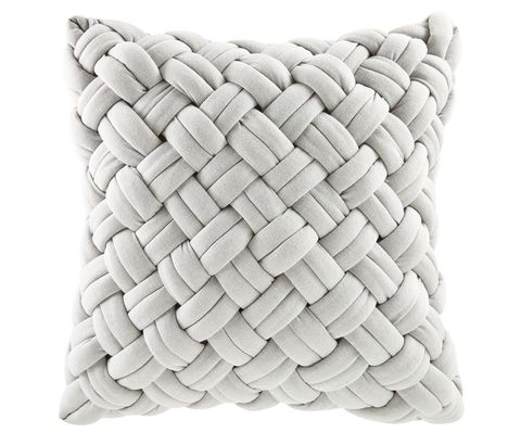 Grey Woven Cushion, Maisons du Monde