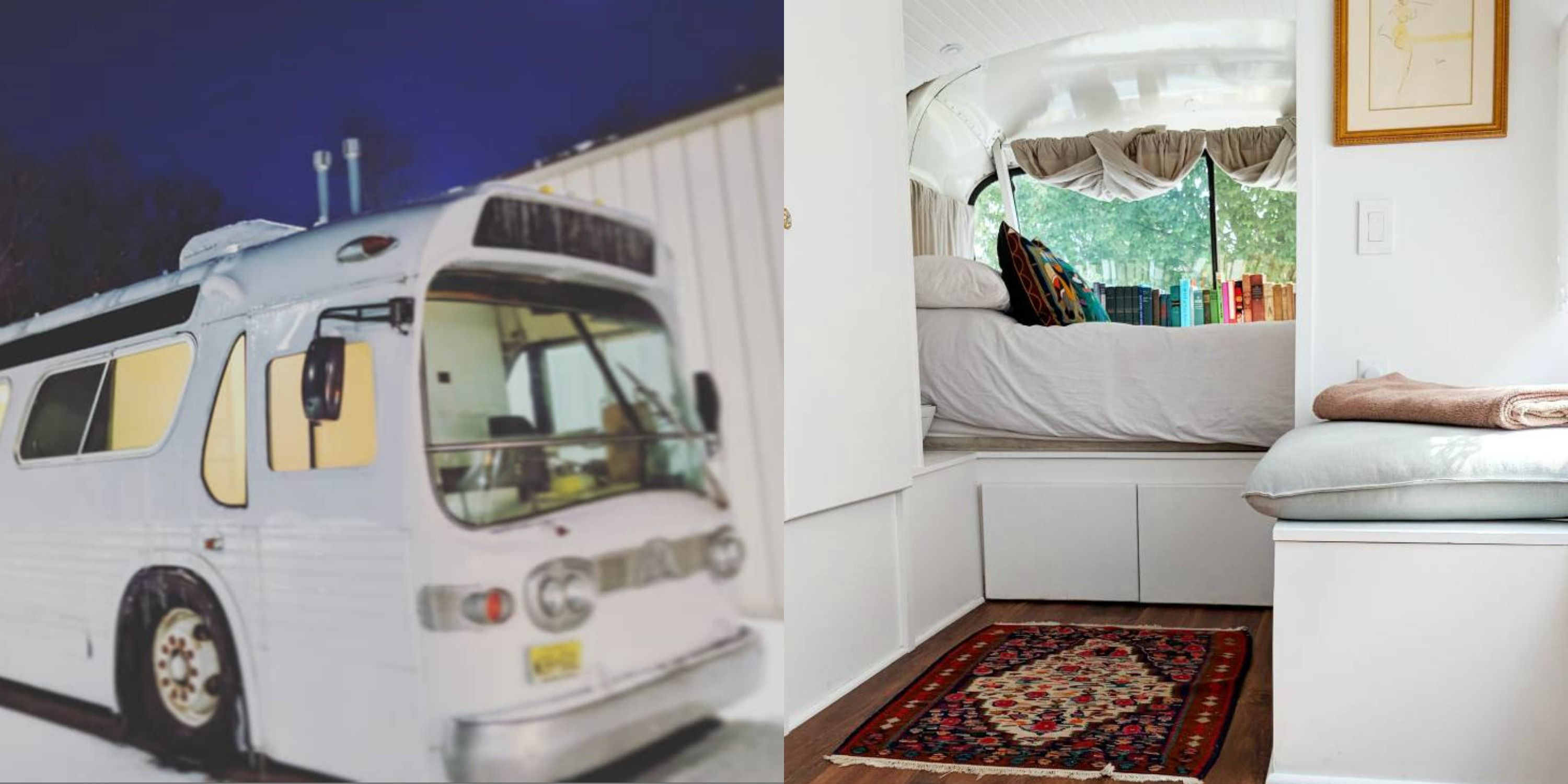 This Woman Turned A Greyhound Bus Into One Incredible Tiny Home
