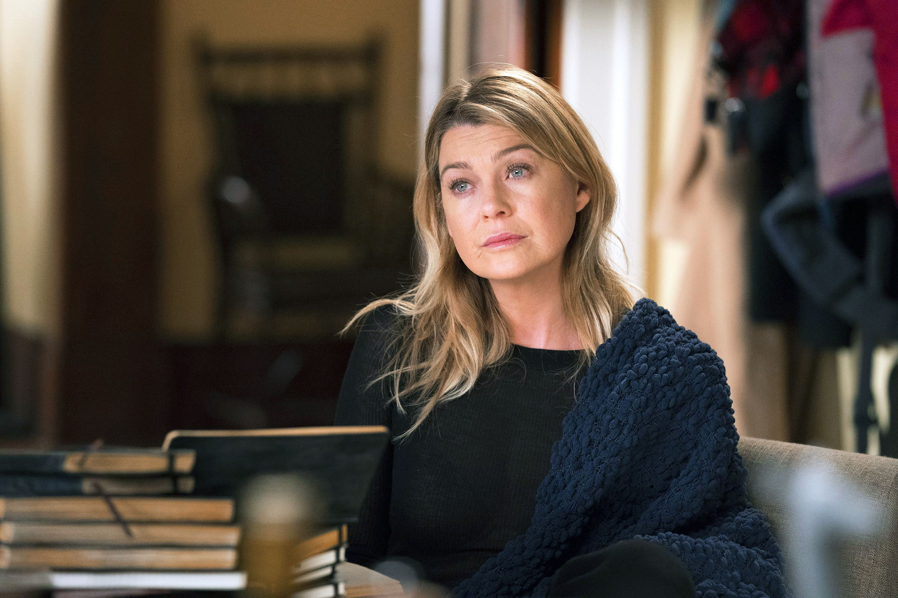 Ellen Pompeo Says Goodbye to Grey's Anatomy Co-Stars Ahead of Finale