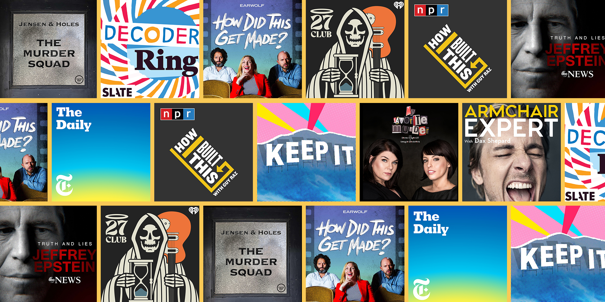 Best Business Podcasts 2021 13 Best Podcasts of 2020   Top New Podcasts to Listen to 2020