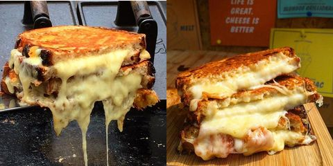 These grilled cheese toasties are the sexiest thing you'll see all day