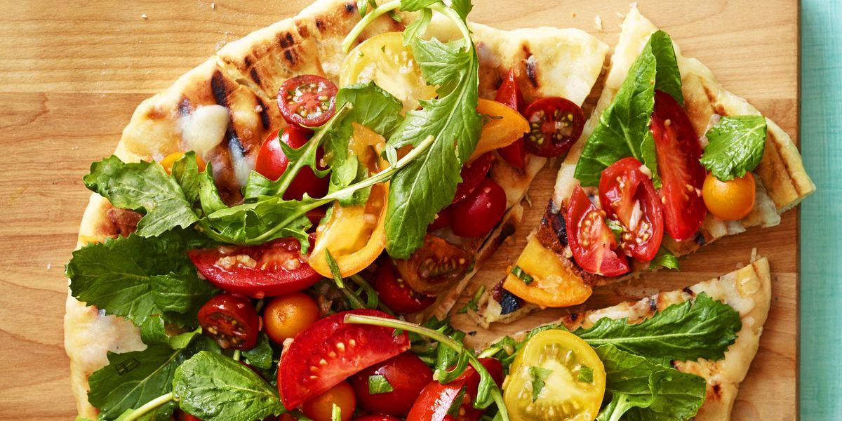 Grilled Caprese Salad Pizza
