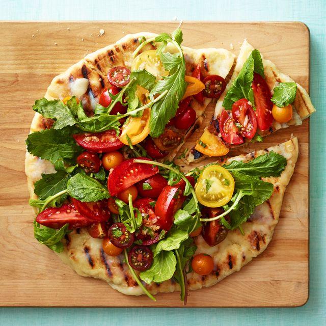 grilled caprese salad pizza recipe