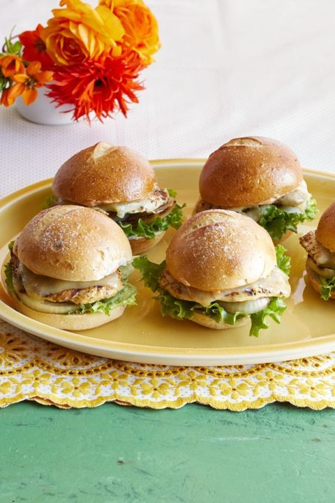 grilled chicken sliders fourth of july appetizers