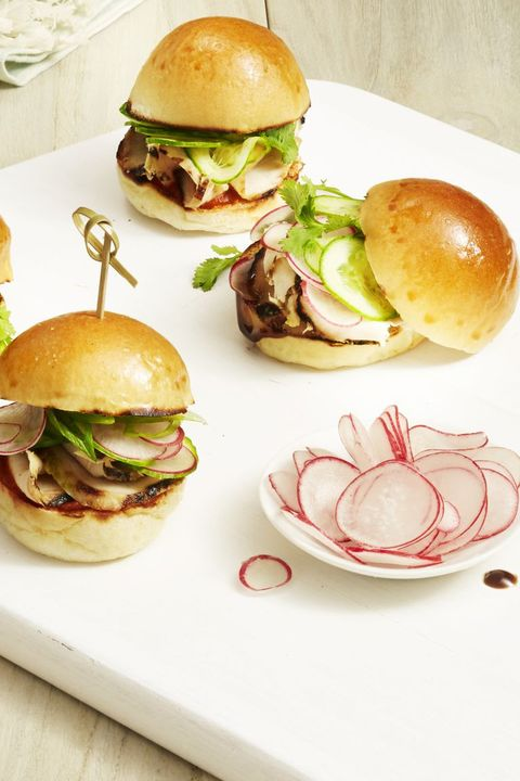 Labor Day Recipes - Grilled Chicken Sliders