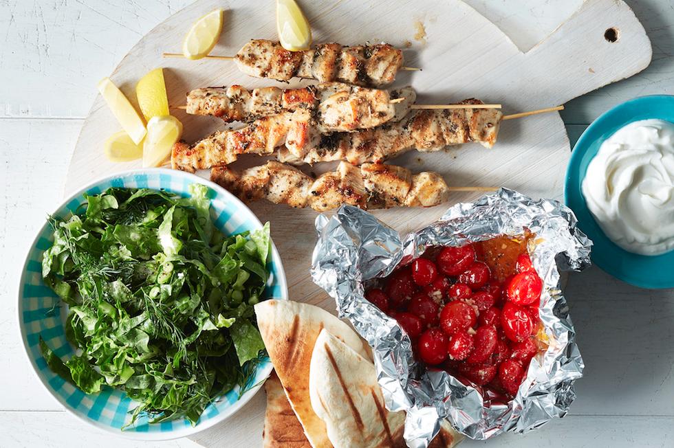 Grilled Chicken Souvlaki