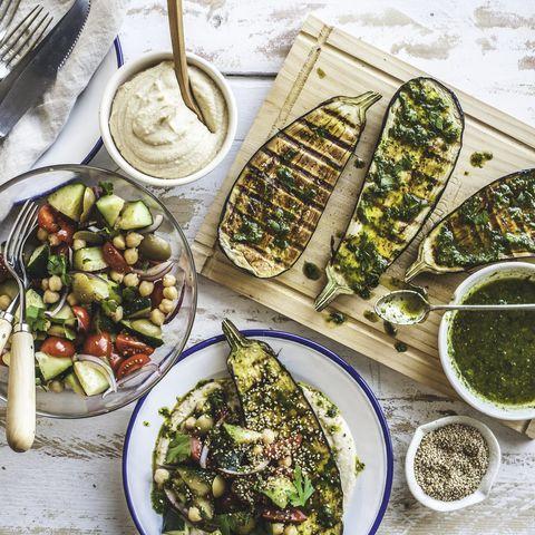 grilled eggplant healthy dinner party