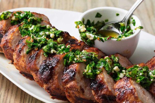 dish, food, cuisine, ingredient, meat, produce, gremolata, recipe, carne asada, grillades,