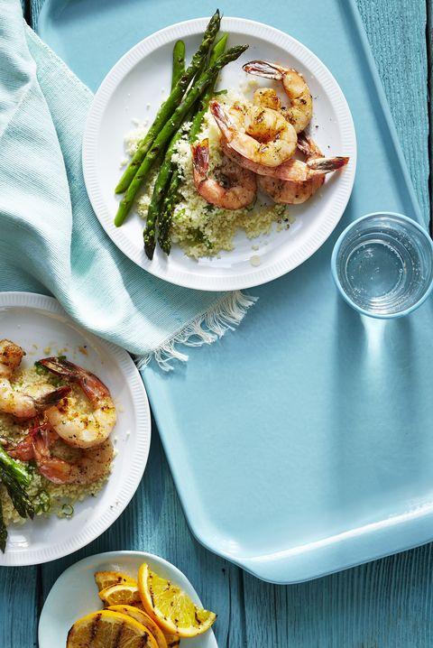 cumin grilled shrimp