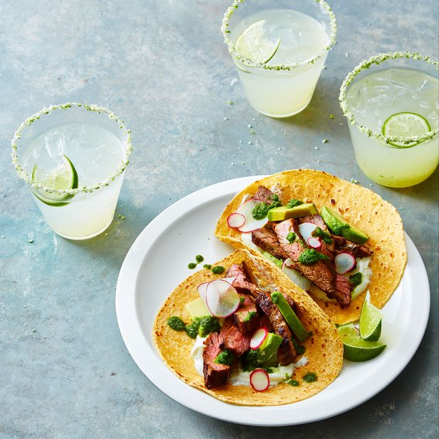 grilled tequila steak tacos