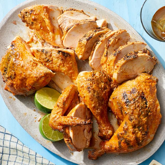 grilled yogurtmarinated chicken