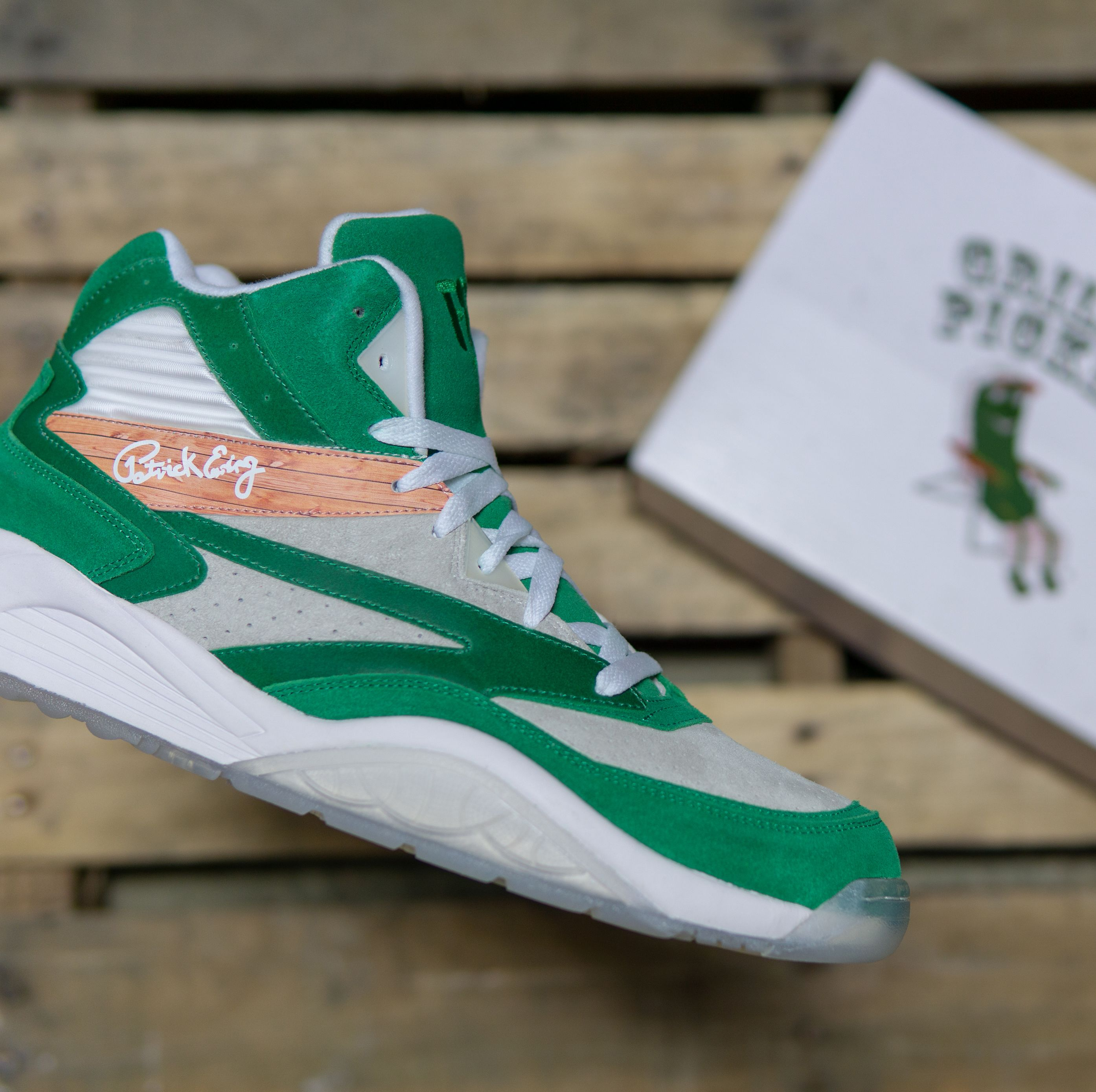 Patrick Ewing Made a Pickle Sneaker and I'm Salty I Don't Own a Pair