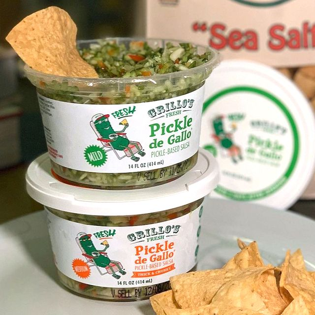 grillo's dill pickle de gallo salsa