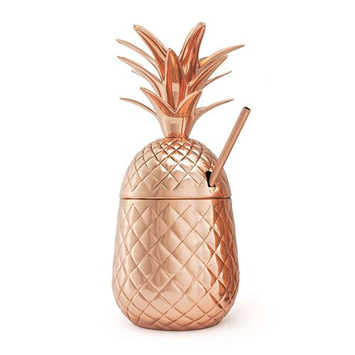 Grinb copper pineapple moscow mule mug