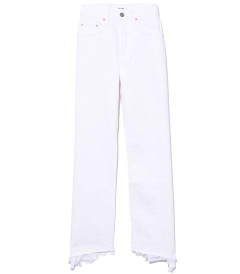 White, Clothing, Jeans, Active pants, Trousers, Denim, sweatpant, Sportswear, Pocket,