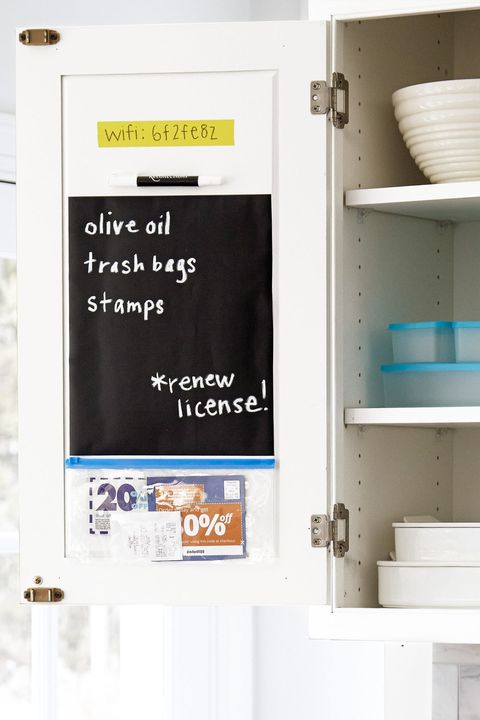 Grocery List Organization