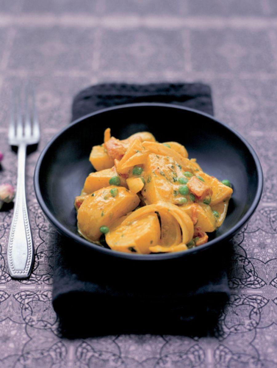 aardappeldoperwtencurry