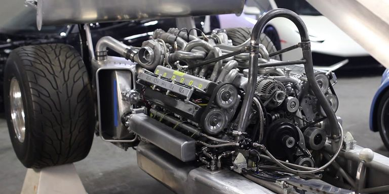 How A Hot Rodder Home Built A Twin Turbo V12 From Two
