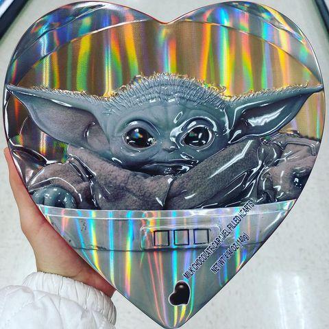 baby yoda box of chocolates for valentine's day