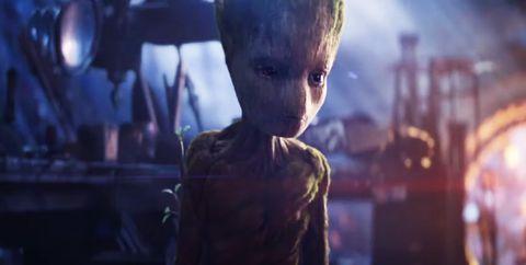262ef69103d55 Groot Final Words - Groot s Final Words in Avengers Infinity War Are ...