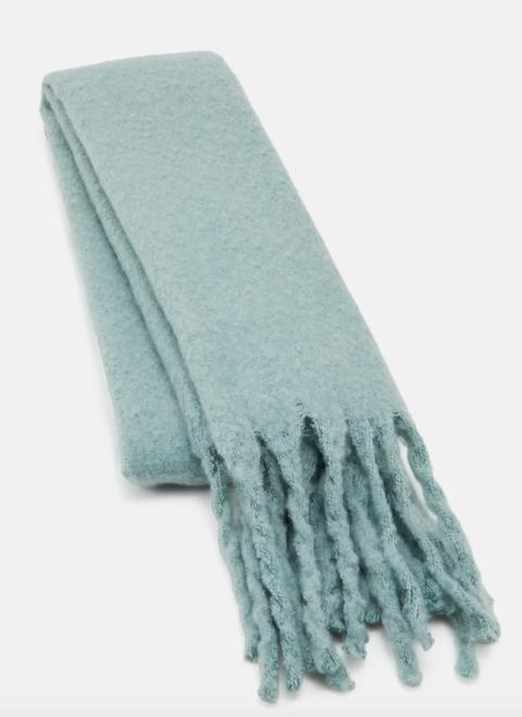 lindex big fringe scarf   sjaal