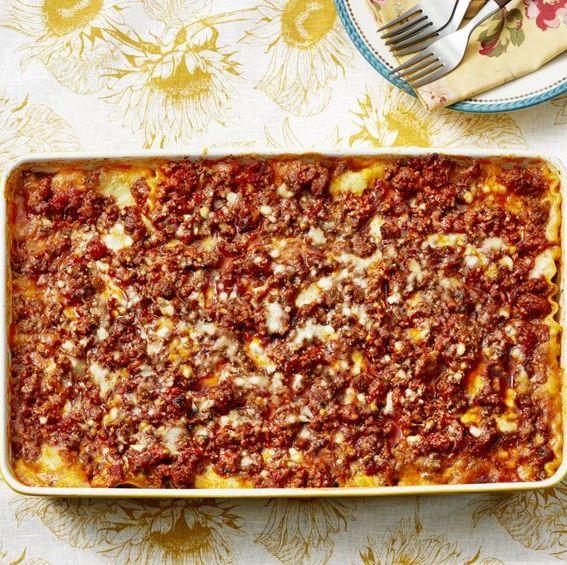 ground beef casserole recipes lasagna