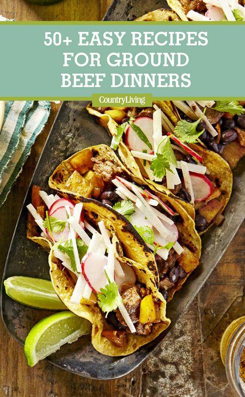 44 Best Ground Beef Recipes