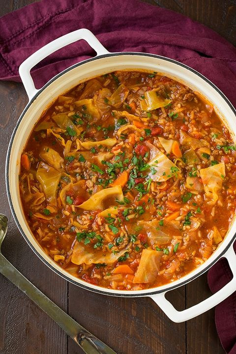 ground beef recipes cabbage roll soup