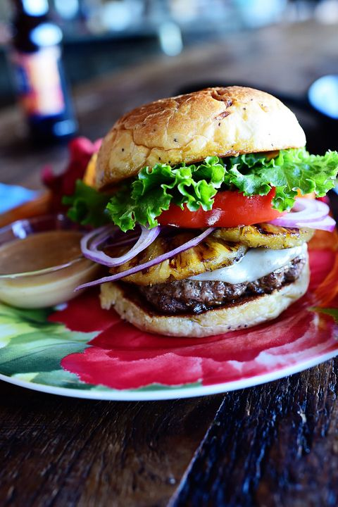 ground beef recipes hawaiian burger