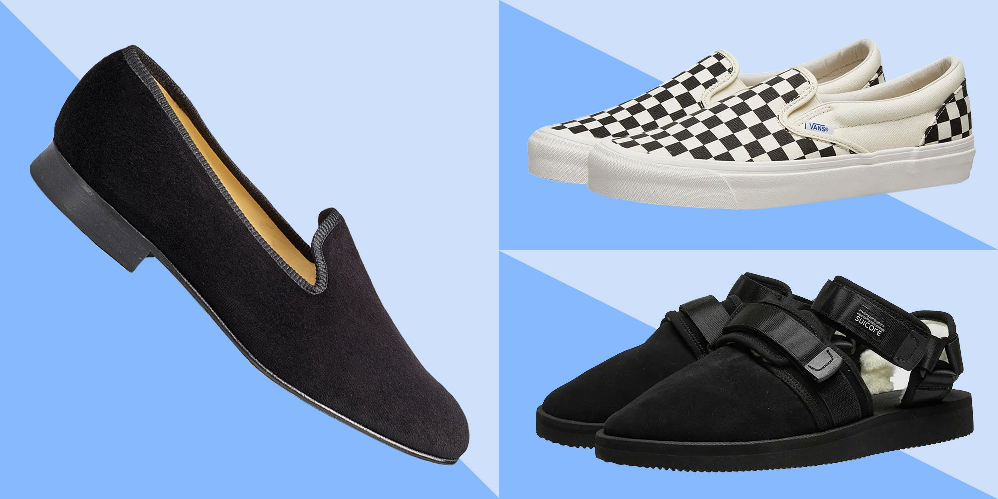 athletic slip on shoes