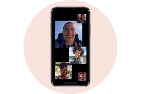 nhóm facetime apple iphone